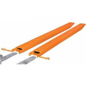 Rallonges de fourches fermées (FG) / ouvertes (OG) - Pour fourches de largeur 80 mm à 150 mm