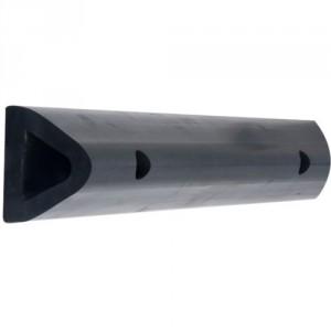 Rambarde DELTA défense de quai en caoutchouc - Longueur 2500 mm