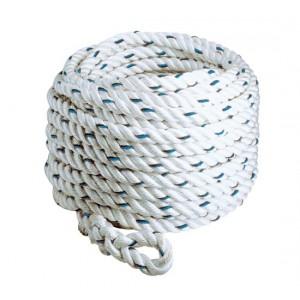 Corde polyamide épissurée 3 torons RLX diam. 14 mm