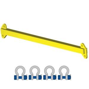 Barre d'écartement FIXE - Capacité 1 t à 10 t