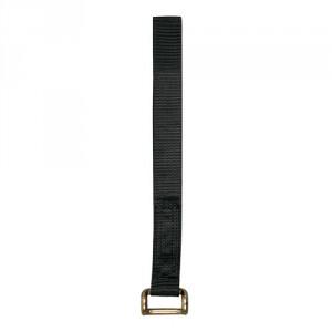 Sangle BAS DE RIDEAU BR47A seule (sans tendeur) largeur 47 mm, avec crochet en fil acier ZINGUE