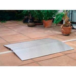 Passage d'obstacles articulé en aluminium - Capacité 500 kg - Longueur 0,61 m