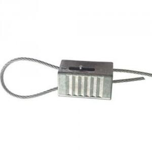 Serre-câble autobloquant débrayable LK pour confection de boucles - Pour câble Ø 1 mm à 6 mm