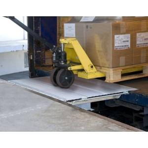 SKB & SKB-SL - Pont de liaison en aluminium articulé COULISSANT dans un rail - Capacité 1750 kg à 4000 kg