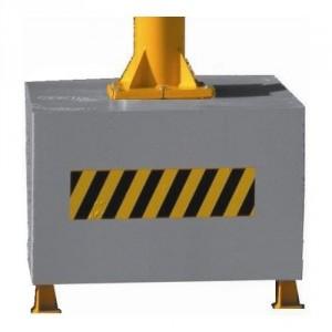 Socle mobile MOB pour potence sur colonne - Capacité 0,05 t à 0,5 t