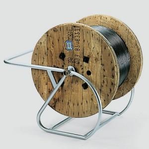 Support basculant SBW pour tourets de câble - Capacité 0,3 t, 0,5 t et 0,8 t