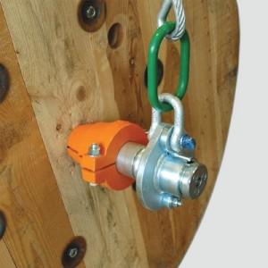 Suspension de bobine SB pour axe tournant - Capacité 7 t à 28 t par paire