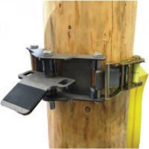PCA-1269-Système d'ancrage pour arbres et poteaux avec sangle de 3 m