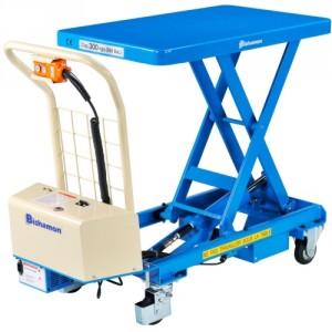 Table élév. électrique BISHAMON 300 kg plat. 815x500 H290/860