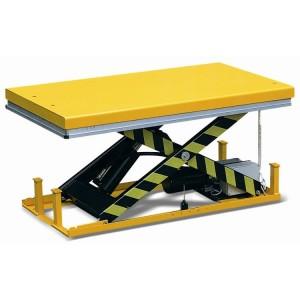 WH1001 - Table élévatrice électrique fixe encastrable 1000 kg 820x1300 mm, hauteur 205 mm à 1000 mm