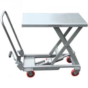 Table élévatrice manuelle Aluminium TLA - Capacité 100 kg