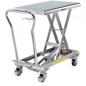 Tables élévatrices INOX BISHAMON - Capacité 100 kg et 200 kg