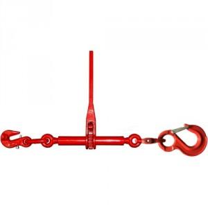 Tendeur d'arrimage à cliquet TD1 avec un crochet standard avec linguet de sécurité - Pour chaîne Ø 8 mm à 16 mm
