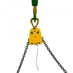 Tête équilibrage TE à verrouillage automatique pour élingue chaîne Ø 7 mm, 10 mm et 13 mm - Capacité 1,6 t à 4,5 t