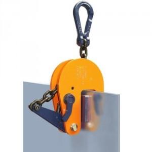 Pince de levage PMK multiposition à prise automatique et mors non marquants - Capacité 0,5 t à 3 t