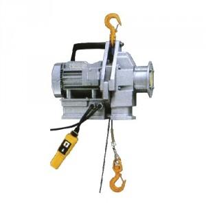 Palan électrique portable à câble passant MINIFOR - Avec télécommande FILAIRE - Capacité 100 kg à 500 kg