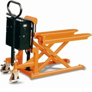 Transpalette électrique grande stabilité haute levée EP & EPL - Capacité 500 kg et 1000 kg