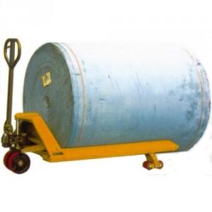 Transpalette manuel porte bobine RH avec fourches en V - Capacité 1500 kg et 1800 kg