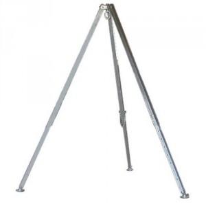 Trépied en aluminium WD avec oeillet d'accrochage (nu, sans palan) - Capacité 0,25 t à 1 t