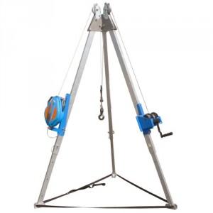 Trépied télescopique aluminium TPS - Capacité 0,5 t