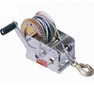 Treuil de halage à cliquet 'LOISIR' (utilisation occasionnelle) - Livré avec câble acier et crochet - Capacité 530 kg