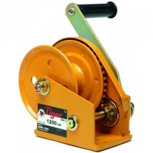 Treuil de halage TBHW auto freiné pour câble et sangle - Capacité 540 kg