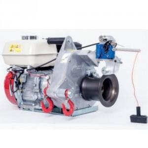 Treuil de tirage/levage à essence PORTABLE WINCH PCH 2000 - Force de tire maxi : 775 KG