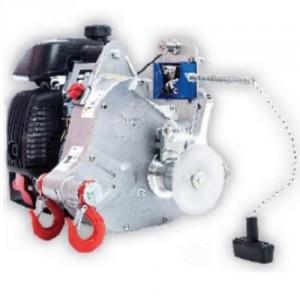 Treuil de tirage/levage à essence PORTABLE WINCH PCH1000 - force de tir maxi : 775 kg