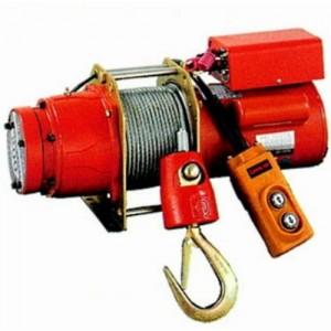 Treuil électrique de halage 220 V Monophasé - Capacité 300 kg