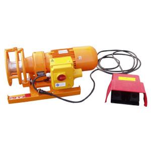 Treuil électrique à cabestan conçu pour le tirage de câble (lignes électriques, fibre optique…) en milieu industriel - Traction 10 kN