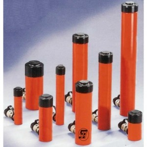 Vérins hydrauliques 700 bars standards simple effet - Capacité 5 t à 100 t