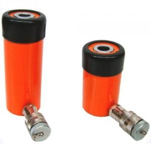 Vérins hydrauliques simple effet à piston creux - Capacité 12 t à 100 t