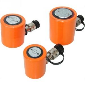 Vérins hydrauliques très bas simple effet - Capacité 10 t à 90 t