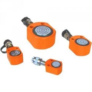 Vérins hydrauliques ultra bas simple effet - Capacité 5 t à 140 t