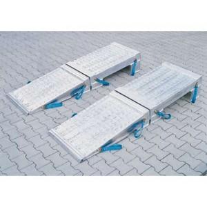 PC - Pentes de chargement en aluminium - Capacité 30000 kg à 50000 kg par paire - Longueur 1,45 m