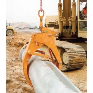 Grappin automatique GWR pour tuyaux béton - Capacité 1,5 t à 12 t
